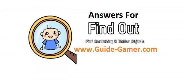 Find Out - Find Something & Hidden Objects